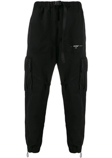 Off-White Parachute buckled cargo trousers