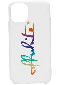 Off-White Rainbow iPhone 11 Pro case