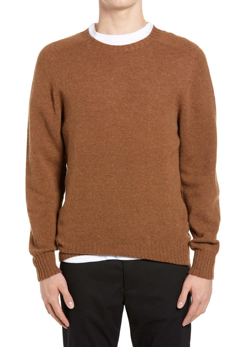 Officine Generale Officine Générale Seamless Crewneck Wool Men's Sweater