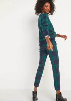 Old Navy High-Waisted Pixie Full-Length Patterned Pants for Women