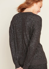 Old Navy Cozy Plush-Knit Pajama Top for Women