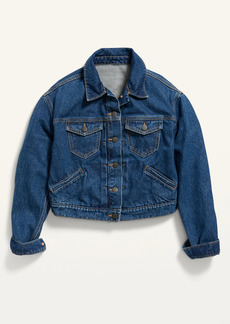Old Navy Cropped Jean Jacket for Women