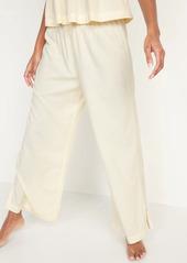 Old Navy Elastic-Waist Soft-Woven Wide-Leg Pajama Pants for Women