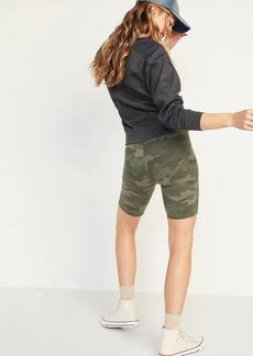 Old Navy Extra High-Waisted Balance Biker Shorts 2-Pack for Women -- 8-inch inseam