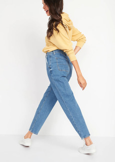 Old Navy Extra High-Waisted Sky Hi Straight Jeans for Women