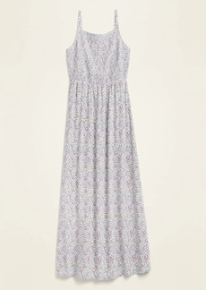 Old Navy Floral Smocked Fit & Flare Maxi Sundress for Women
