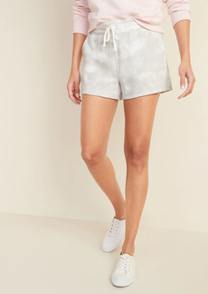 Old Navy French Terry Drawstring Shorts for Women -- 3-inch inseam