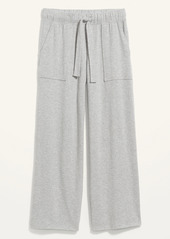 Old Navy High-Waisted Cozy Plush-Knit Pajama Pants for Women