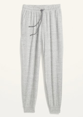 Old Navy High-Waisted Soft-Brushed Plush-Knit Jogger Lounge Pants for Women