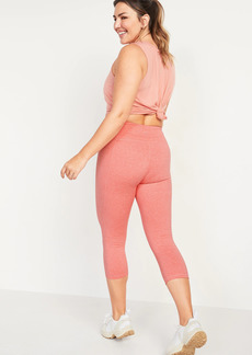 Old Navy High-Waisted Elevate CozeCore Crop Leggings for Women