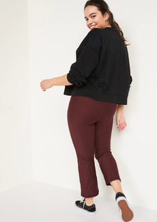 Old Navy High-Waisted Elevate Powersoft Side-Pocket 7/8-Length Flare Leggings for Women