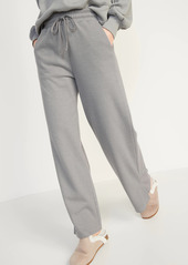 Old Navy High-Waisted French-Rib Wide-Leg Lounge Pants for Women