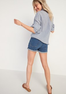 Old Navy High-Waisted O.G. Jean Shorts for Women -- 3-inch inseam
