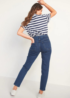 Old Navy High-Waisted O.G. Straight Ankle Jeans for Women