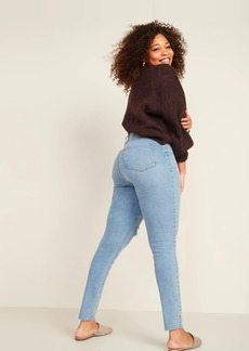 Old Navy High-Waisted Rockstar Super Skinny Ripped Ankle Jeans for Women