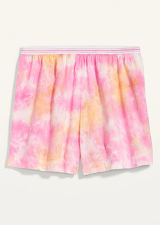 Old Navy High-Waisted Soft-Woven Pajama Shorts for Women -- 4-inch inseam