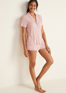 Old Navy Jersey Pajama Shorts Set for Women