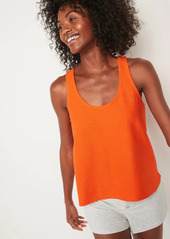 Old Navy Lightweight Textured-Knit Lounge Tank Top for Women