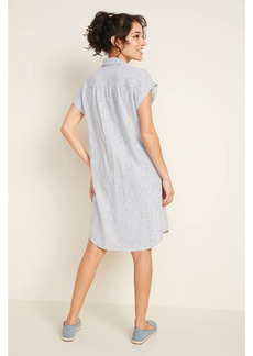 Old Navy Linen-Blend Striped Shirt Dress for Women
