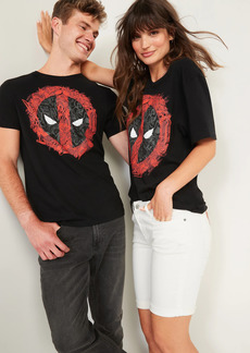 Old Navy Marvel&#153 Deadpool Shield Gender-Neutral Graphic Tee for Adults