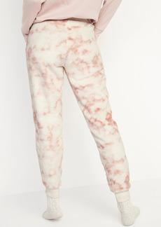 Old Navy Mid-Rise Cozy Faux-Fur Jogger Sweatpants for Women
