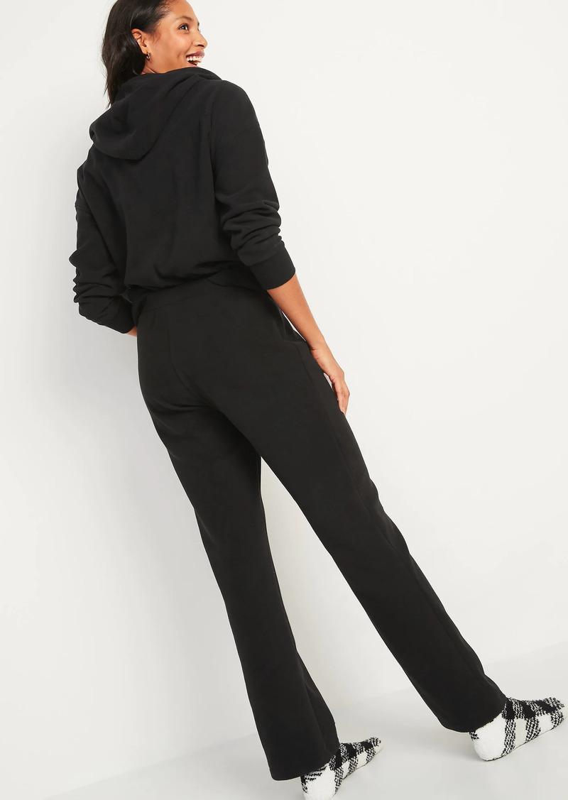 Old Navy Mid-Rise Cozy Micro Performance Fleece Pajama Pants for Women