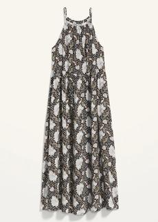 Old Navy Sleeveless High-Neck Maxi Swing Dress for Women