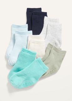 Old Navy Solid Crew Socks 6-Pack for Baby