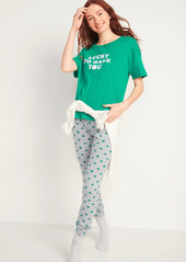 Old Navy Matching St. Patrick's Day Pajama Set for Women