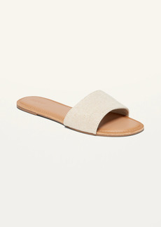 Old Navy Textile Slide Sandals for Women