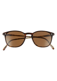 Oliver Peoples Finley 49mm Polarized Keyhole Sunglasses