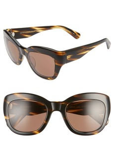 Oliver Peoples Lalit 51mm Wrap Sunglasses