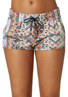 O'Neill Laney Floral Print Stretch Board Shorts
