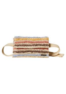 O'Neill Tourmaline Straw Belt Bag