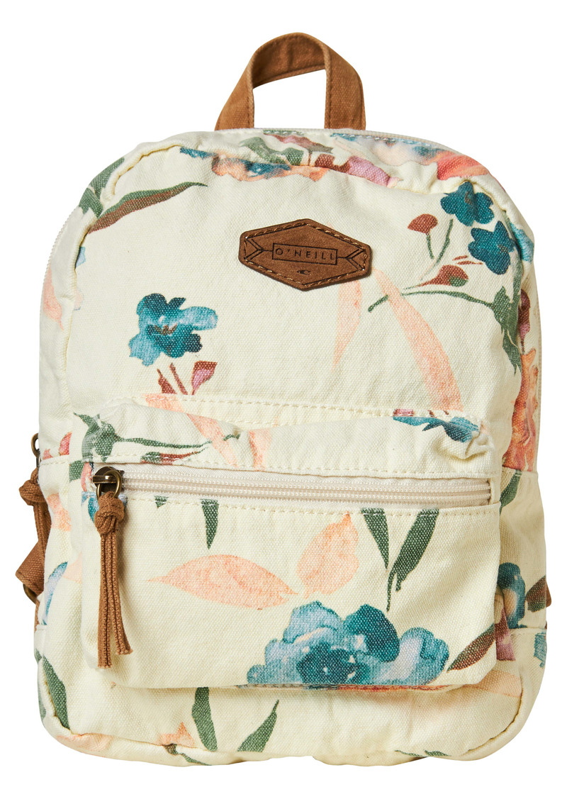 O'Neill Valley Mini Floral Print Backpack