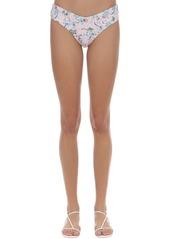 WeWoreWhat Delilah Floral Printed Bikini Bottoms