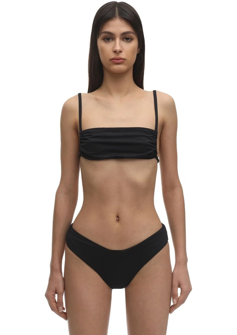 WeWoreWhat Leigh Lycra Bikini Top