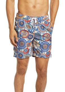 Men's Onia Charles Floral Swim Trunks