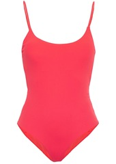 Onia Woman Gabriella Ribbed Swimsuit Tomato Red