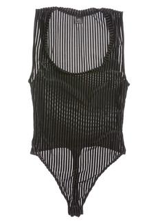 Only Hearts Velvet Rib Sleeveless Bodysuit