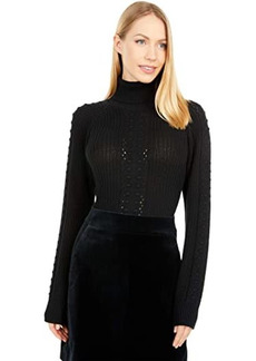 Only Hearts Three Times A Lady Sweater Turtleneck Bodysuit