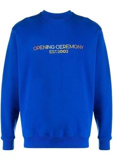 Opening Ceremony embroidered logo sweatshirt