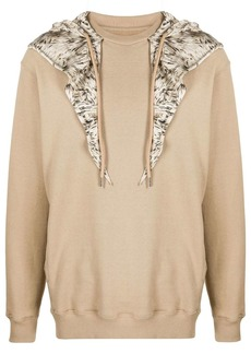 Opening Ceremony scarf-embellished hoodie