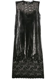 Paco Rabanne chainmail lace midi dress
