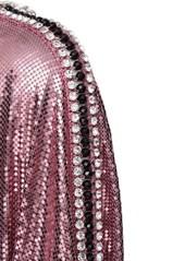 Paco Rabanne Crystal & Metal Mesh Top