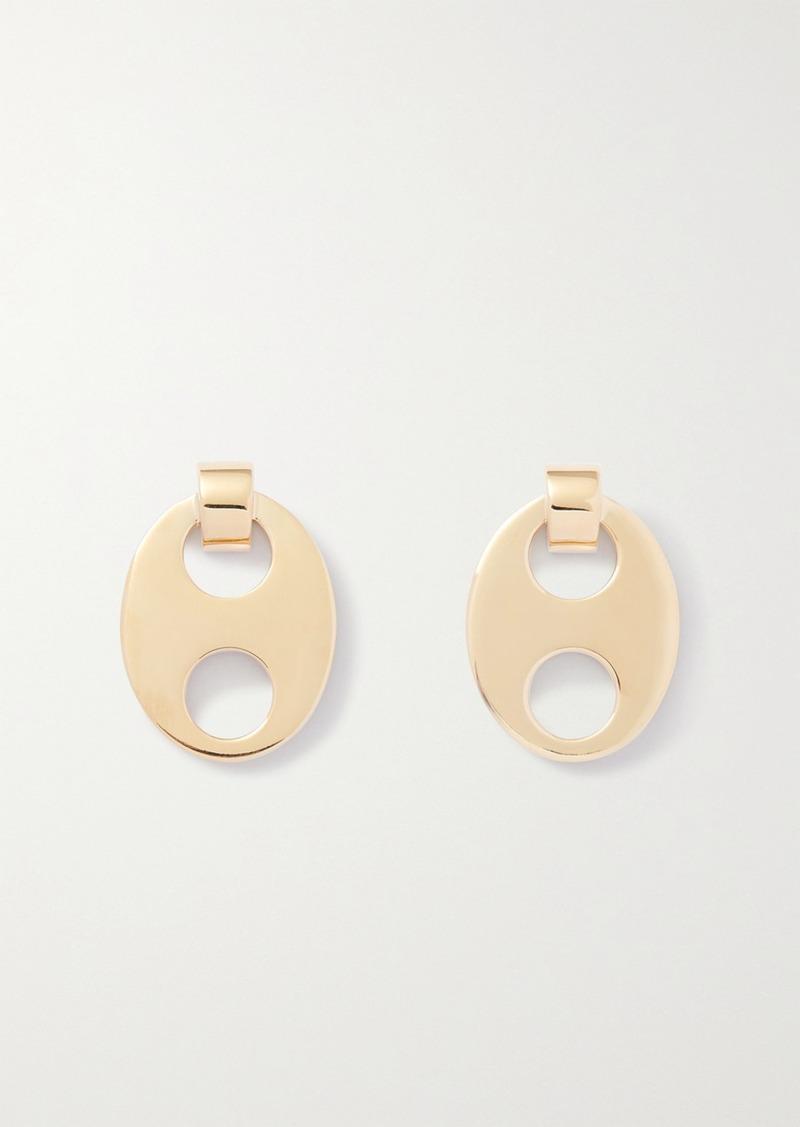 Paco Rabanne Eight Gold-tone Earrings