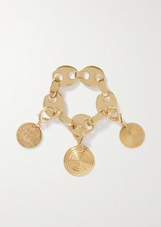 Paco Rabanne Eight Gold-tone Metal Bracelet