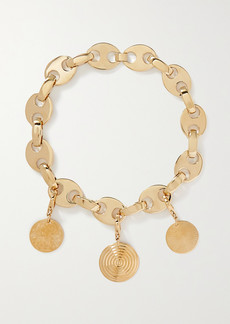 Paco Rabanne Eight Gold-tone Necklace