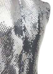 Paco Rabanne Embroidered Jersey Sequined Top