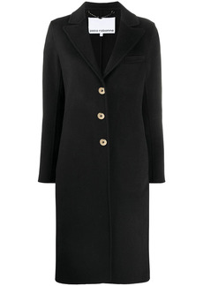 Paco Rabanne fitted single-breasted coat